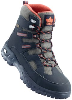 Winterstiefel, Lico, oliv/orange