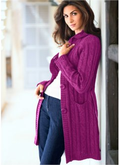Long-Strickjacke, bpc selection