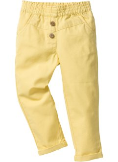 Pantalon confort, bpc bonprix collection, jaune clair