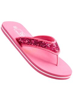 Zehenstegpantolette, bpc bonprix collection, fuchsia