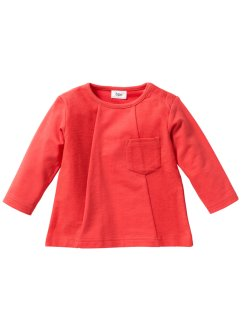 Sweat-shirt bébé en coton bio, bpc bonprix collection, capucine