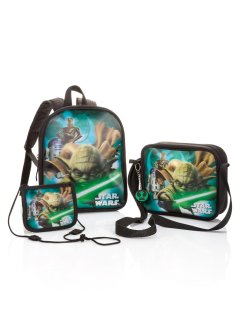 Set cartables enfant Star Wars, bpc bonprix collection, bleu imprimé