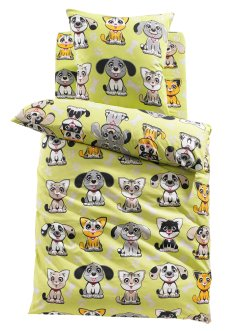 Linge de lit Animaux, bpc living, multicolore