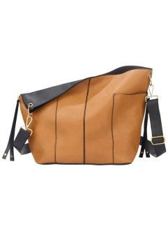 "Shopper ""Doubleface"", bpc bonprix collection, cognac/schwarz"