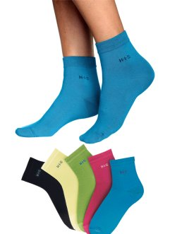 Damenkurzsocken (5er-Pack), H.I.S