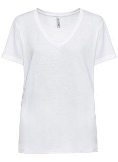 Shirt mit V-Ausschnitt, RAINBOW