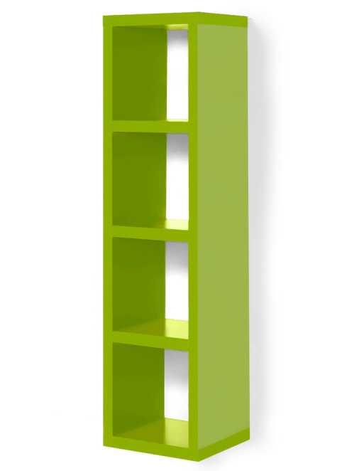 regal kenia 4 f cher bpc living gr n. Black Bedroom Furniture Sets. Home Design Ideas