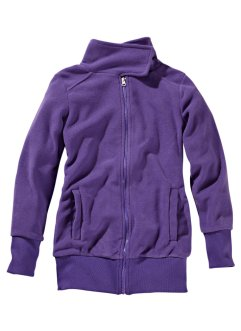 Fleece-Jacke, bpc bonprix collection, lila