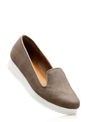 Plateauslipper, bpc bonprix collection, taupe