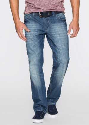 Jeans in Loose Fit Straight, John Baner JEANSWEAR