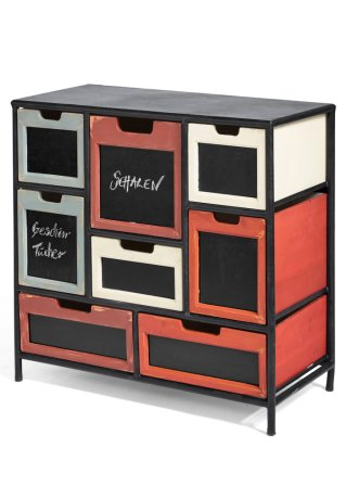 nick ist eine au ergew hnliche kommode schwarz orange rot. Black Bedroom Furniture Sets. Home Design Ideas