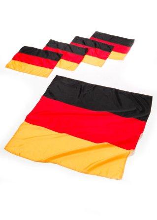 tisch deko deutschland 5 tlg schwarz rot gold bpc. Black Bedroom Furniture Sets. Home Design Ideas