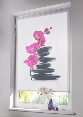 rollo fotodruck klemmfix steine bpc living. Black Bedroom Furniture Sets. Home Design Ideas