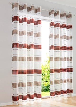 gardine robby 1er pack sen rot bpc living online bestellen. Black Bedroom Furniture Sets. Home Design Ideas