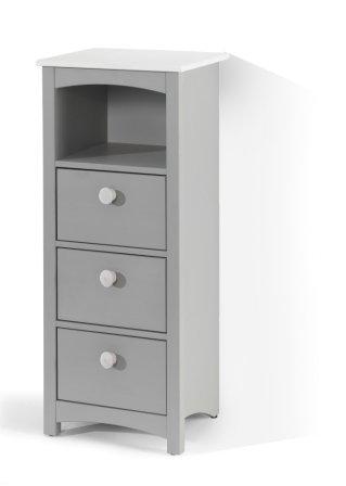 skandinavisches lebensgef hl im badezimmer hochschrank paula grau. Black Bedroom Furniture Sets. Home Design Ideas