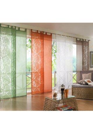 schiebegardinen f r stilvolle lichteffekte bei bonprix. Black Bedroom Furniture Sets. Home Design Ideas