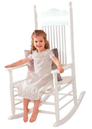 schaukelstuhl wei home collection. Black Bedroom Furniture Sets. Home Design Ideas