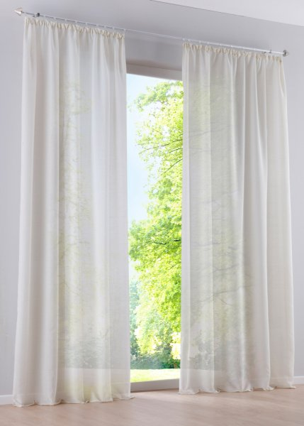 adilo bonprix gardinen mit kr uselband gardinen. Black Bedroom Furniture Sets. Home Design Ideas
