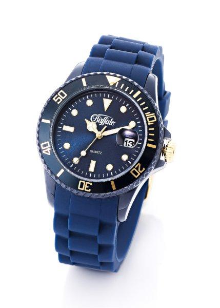Заказать в Интернет-магазине bonprix.ru Часы темно-синий от 1099 р.. Прелестные женские часы марки Buffalo на