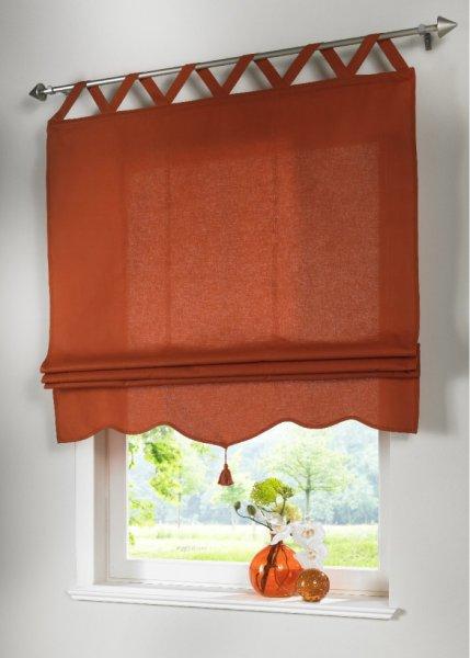 Прозрачная римская штора своими руками