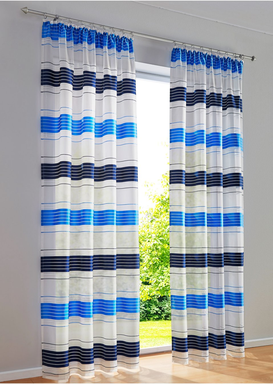Bonprix Gardinen » Bonprix Gardinen Blau - Gardinen Dekoration ...
