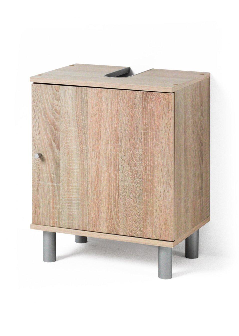 viel stauraum f r kleine b der der waschbeckenunterschrank max sonoma eiche. Black Bedroom Furniture Sets. Home Design Ideas