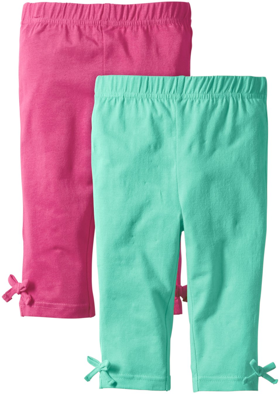 Lot de 2 leggings 3 4 orange fuchsia bpc bonprix collection commande onli - Bonprix suivi de commande ...
