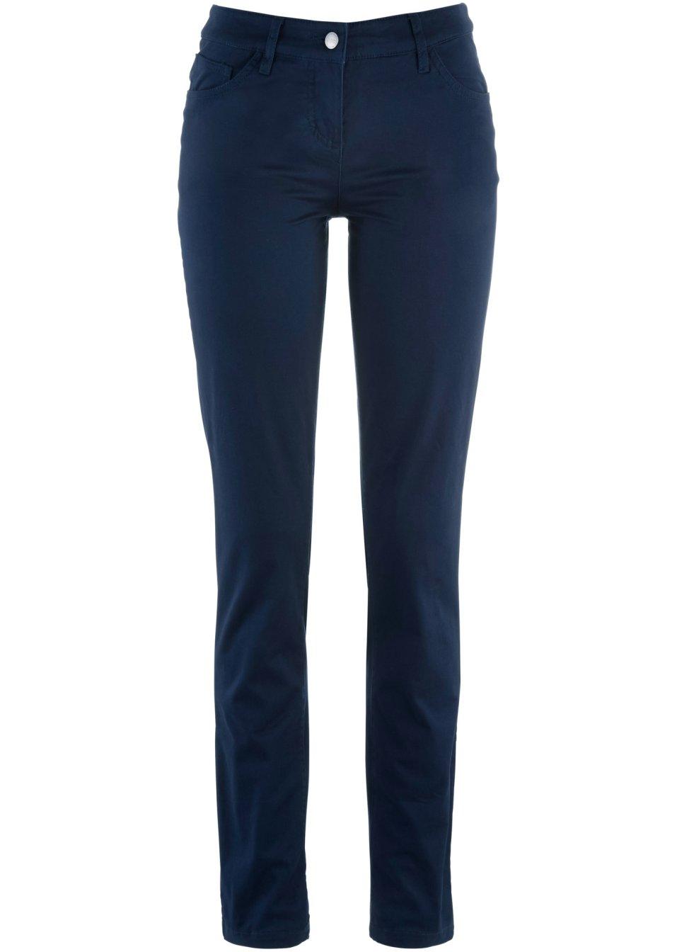 Pantalon extensible slim fit bleu fonc bpc bonprix collection commande onl - Bonprix suivi de commande ...