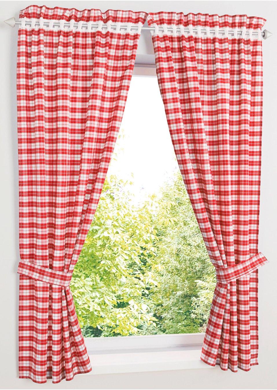 vorhang alvin 2er pack lochleiste rot wohnen. Black Bedroom Furniture Sets. Home Design Ideas