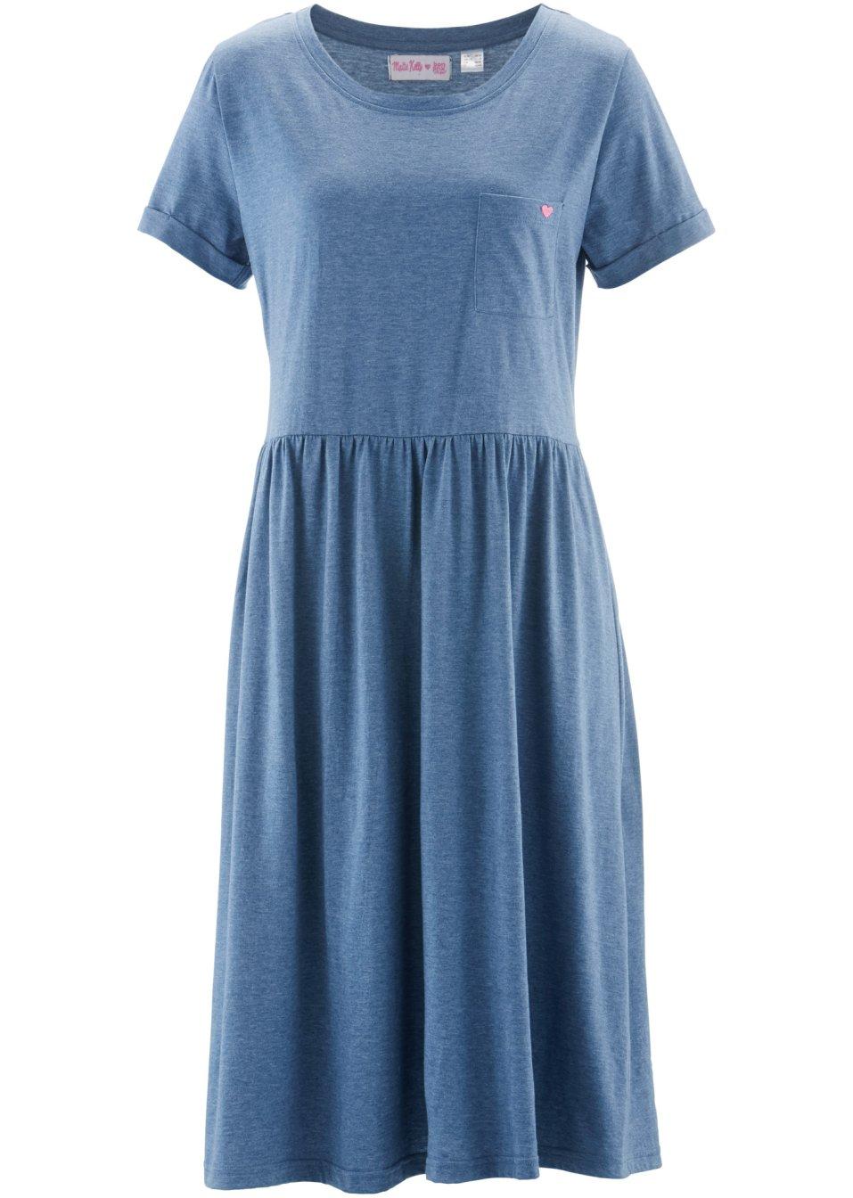 shirt kleid 1 2 arm designt von maite kelly jeansblau bpc bonprix collection online kaufen. Black Bedroom Furniture Sets. Home Design Ideas