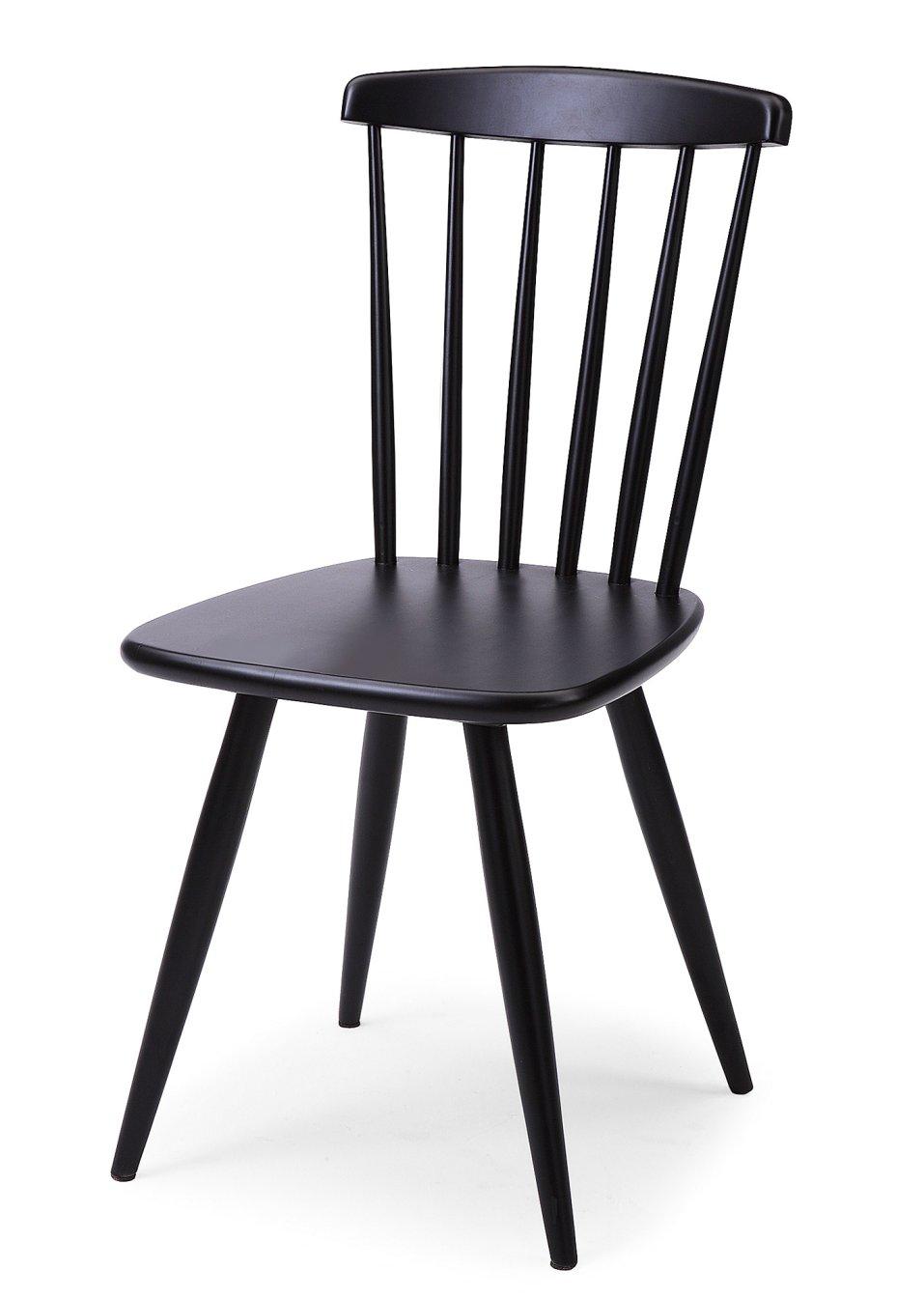 st hle marseille 2er set schwarz bpc living online. Black Bedroom Furniture Sets. Home Design Ideas