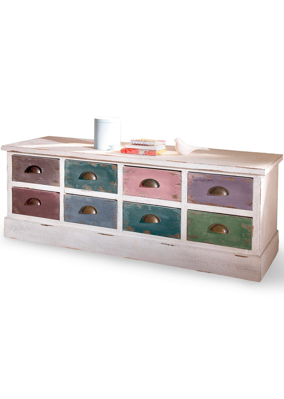 Kommode Siena Wei Bunt Home Collection