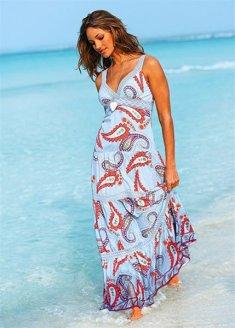 Комментарий: Выкройка летнего длинного сарафана