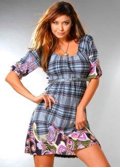 трикотажные платья фото - фотография 8.