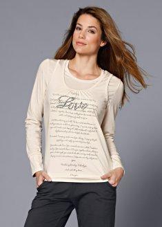 Топ + футболка Комплект-двойка, состоящий из классической футболки с...
