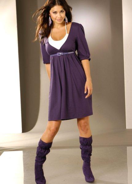 Трикотажное платье: одежда для любого случая.