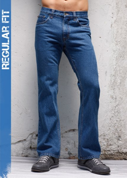 Le jean bootcut Regular Fit, Long. 34