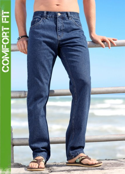 Le jean Carrot Comfort Fit, Long. 32