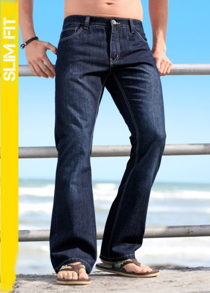 Le jean boocut Slim Fit, Long. 34