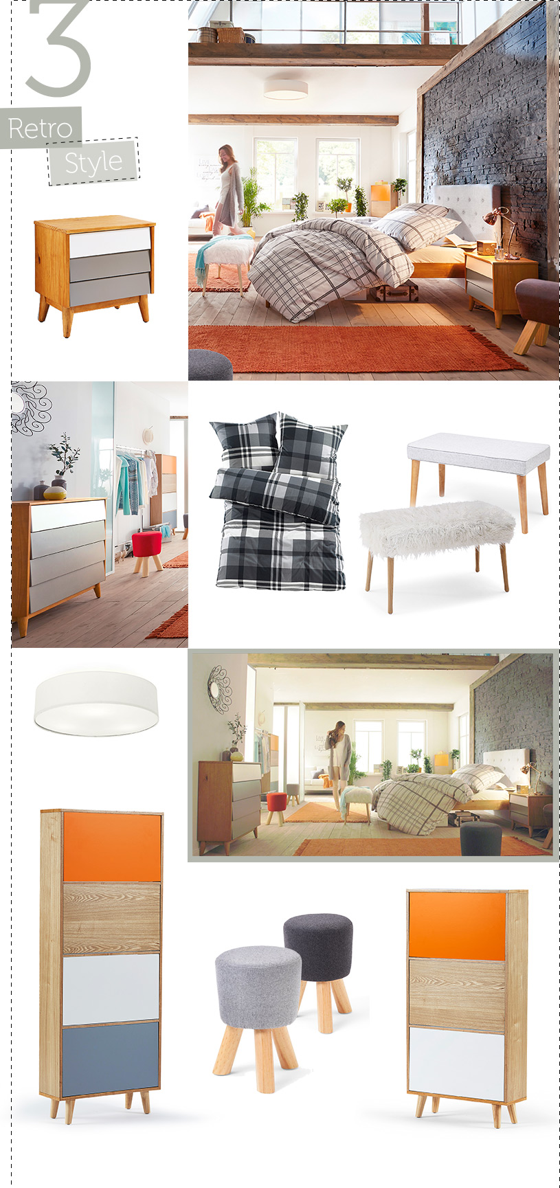 neue m bel trends inspiration wohnen. Black Bedroom Furniture Sets. Home Design Ideas