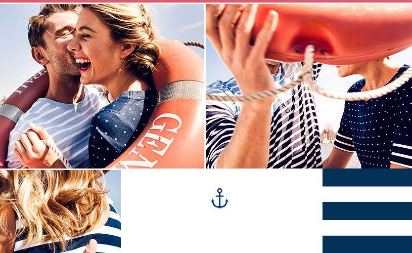 Marine kleding dames - jackalinne.com