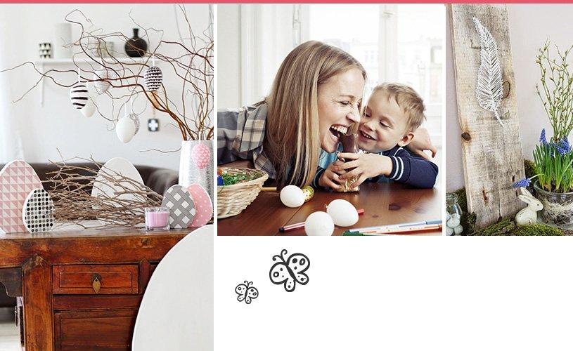 basteln dekorieren zu ostern die sch nsten ideen. Black Bedroom Furniture Sets. Home Design Ideas