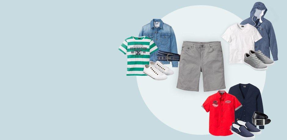 6c2597e36a72b5 Herren - Trends   Anlässe - Trends - Outfits - Ein Style - drei Looks