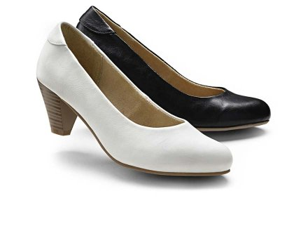 Damen - Pumps - schwarz