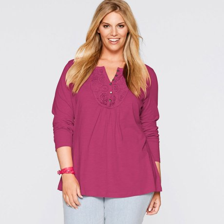 Plus Size - Todas as Categorias - Blusas e Camisas