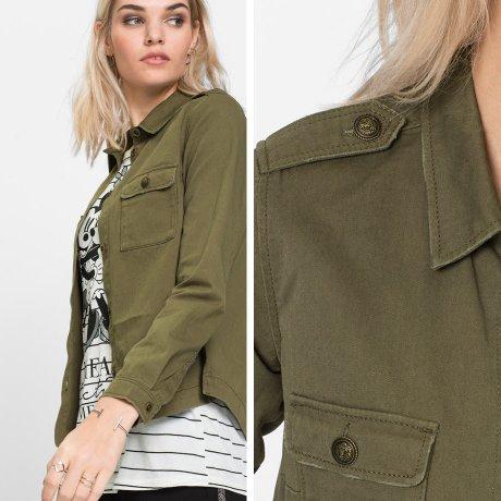 hemd army style damen