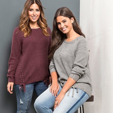 Damen - Mode - Pullover & Sweat