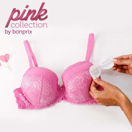 Modeglossar - Pink Collection Schalen-BH - rosapink