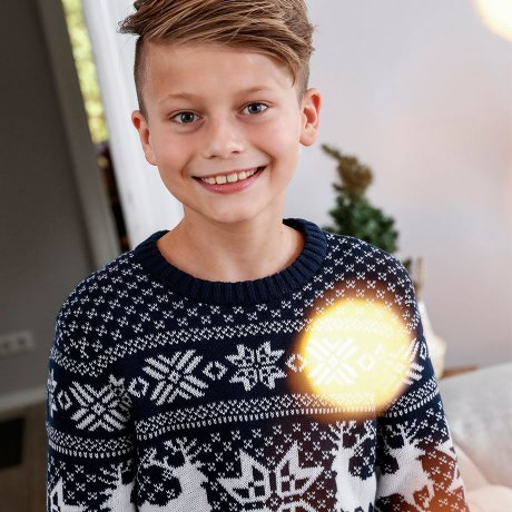 Kinder - Jungen 128-182 - Sweat & Strick