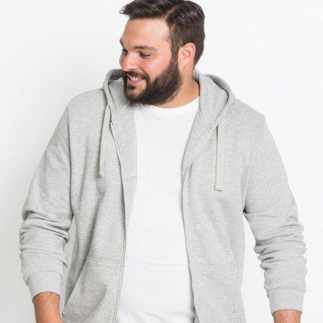 buy popular 34a5e 391ab Große Größen: Herren Sweatjacken entdecken | bonprix